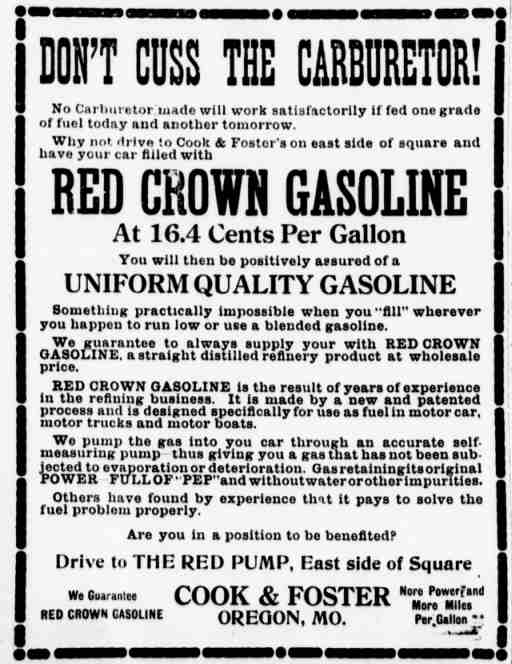 1916 - red-crown-gas-ad