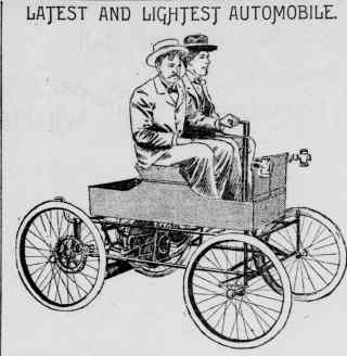 Old car advertisement 2