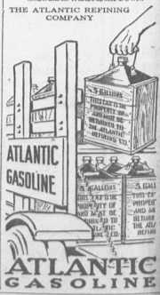 1915 atlantic gas advertisement