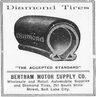 1910 diamond tire advertisement