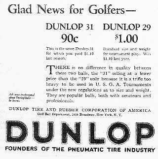1921 dunlop-golf-ball-ad