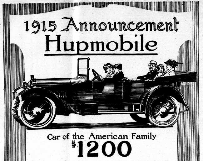 hupmobile of 1915