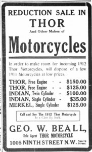 1912 thor motorcycle