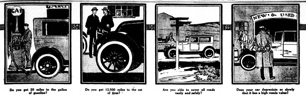 1920 franklin advertisement