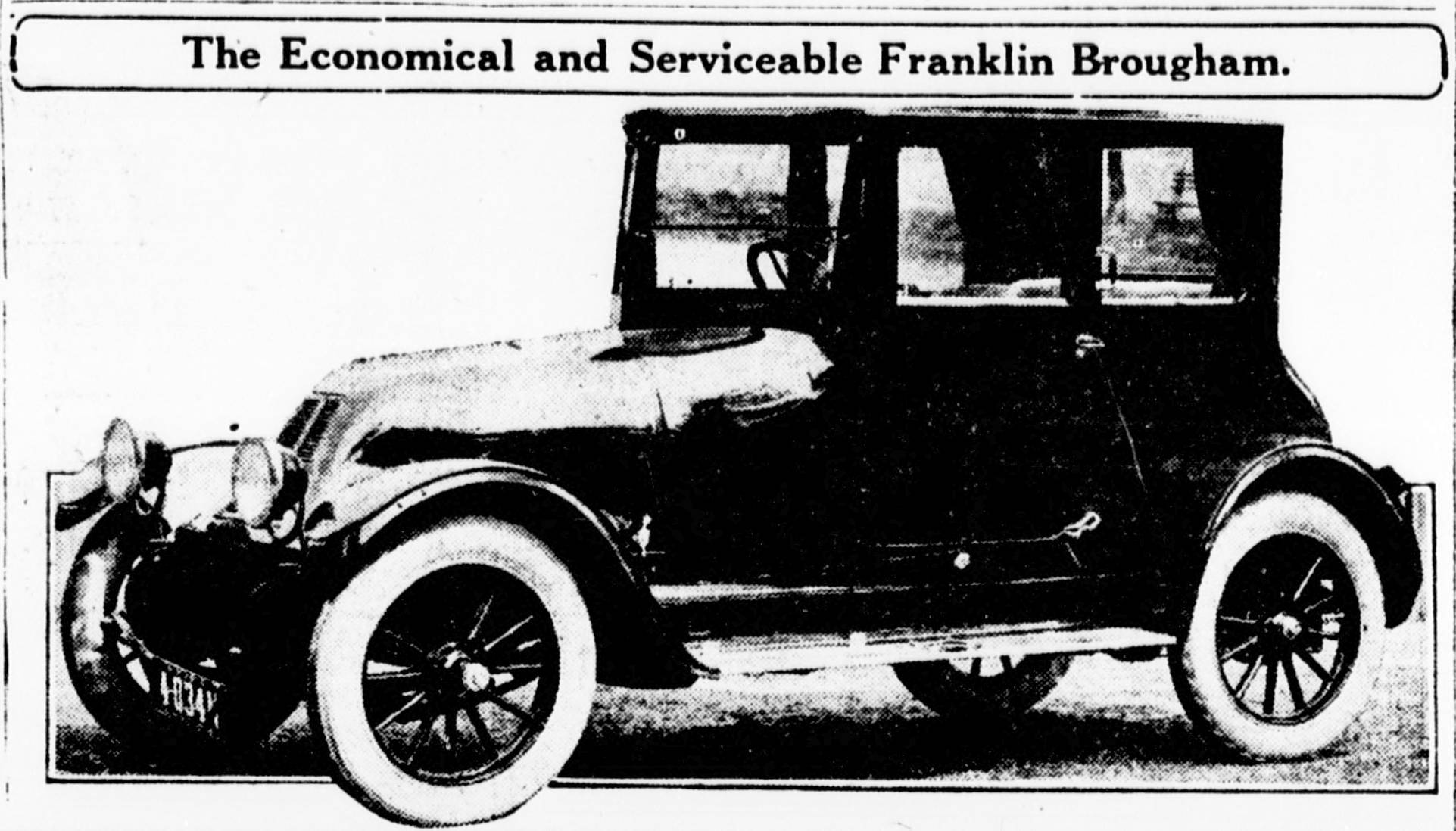 The Franklin Automobile - Early Advertising - Old Auto News