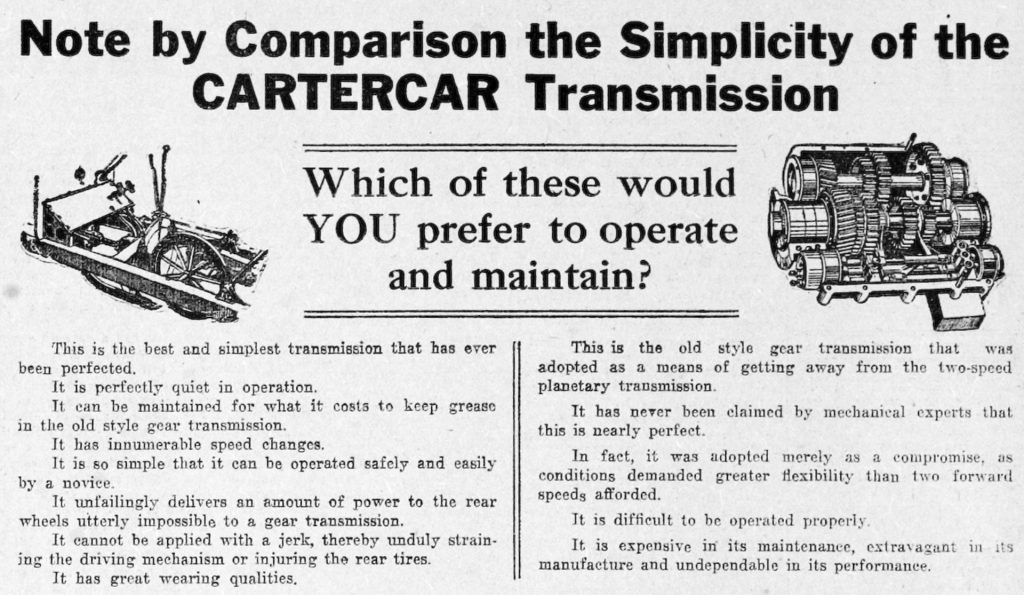 cartercar-transmission